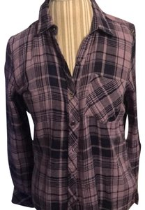 Seven7 Button Down Shirt purple