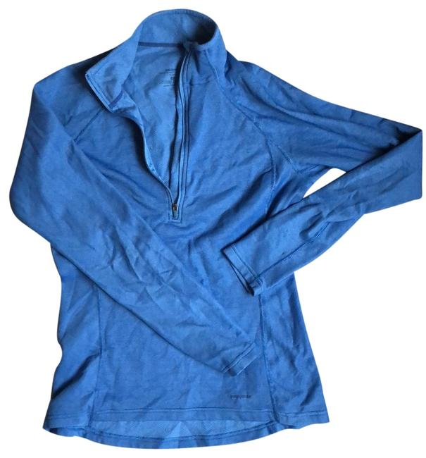 Item - Blue Performance Base Layer Activewear Top Size 4 (S)