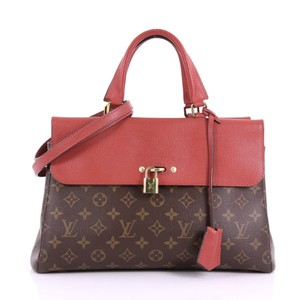 Louis Vuitton Handbag Tote in brown and red
