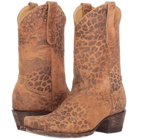 7e97de5fea2 Old Gringo Brown Leopardito Yp 10 Inch Cowboy Boots/Booties Size US 7  Regular (M, B) 33% off retail