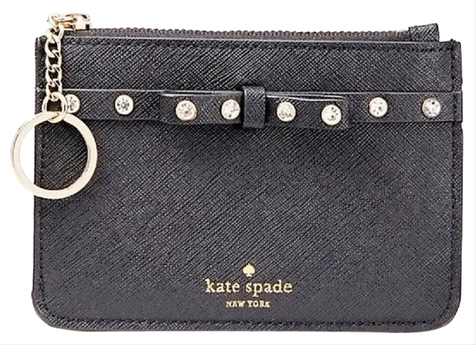86711a6bdf96 Kate Spade Bitsy Laurel Way Jeweled Small Wallet Key Coin Purse .