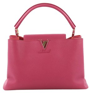 Louis Vuitton Handbag Leather Tote in pink