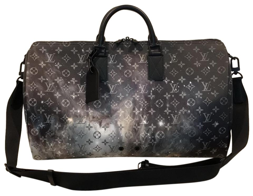 Louis Vuitton Keepall 50 Bandouliere Collection Limited Edition Galaxy  Monogram Travel Bag ... 96ef3330e0189