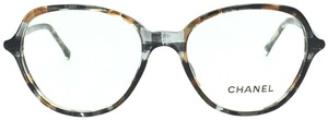 Chanel Butterfly Multi-Color Brown Gray Eyeglasses 3338 c.1521