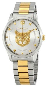 Gucci Timeless Cat Dial Unisex Watch