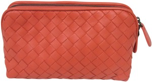 ee3fd674c164 Bottega Veneta BOTTEGA VENETA Intrecciato Nappa Leather Corollo Medium  Cosmetic Case