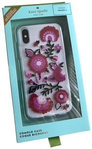 Kate Spade iPhone X NWT Kate Spade ' Jeweled Garland ' COMOLD CASE