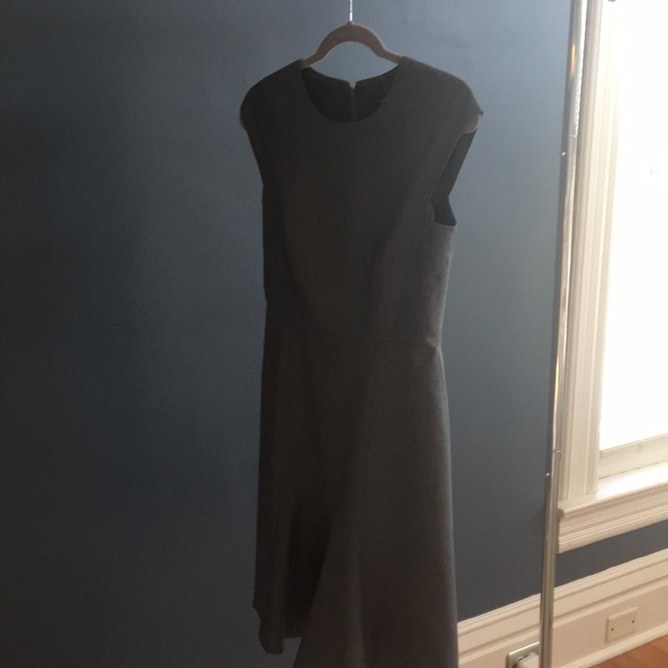 Groovy J Crew Heather Gray Cap Sleeve In Super 120S Mid Length Work Office Dress Size 4 S 64 Off Retail Download Free Architecture Designs Itiscsunscenecom