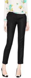 J.Crew Wool Cuffed Cafe Trouser Capris Navy