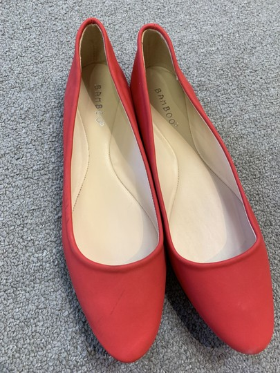 Bamboo Red Flats Image 1