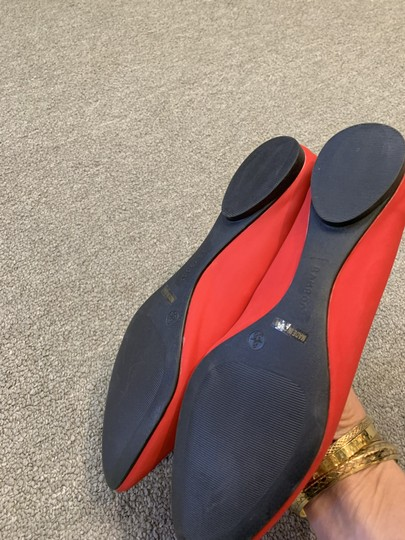 Bamboo Red Flats Image 3