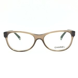 950d923666 Chanel Cat Eye Transparent Brown Quilted Rx Eyeglasses 3323 c.1529