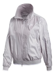 adidas By Stella McCartney Adidas Women`s Stella McCartney Barricade Tennis Jacket Pearl Gray