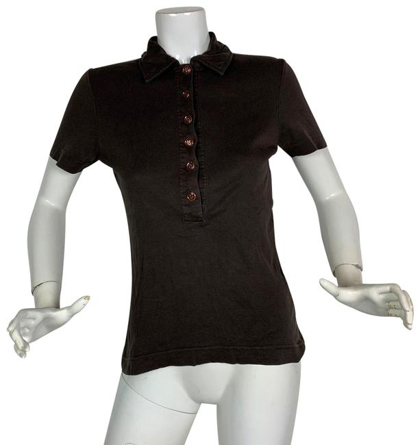Item - Brown Polo Casual Women S Tee Shirt Size 4 (S)