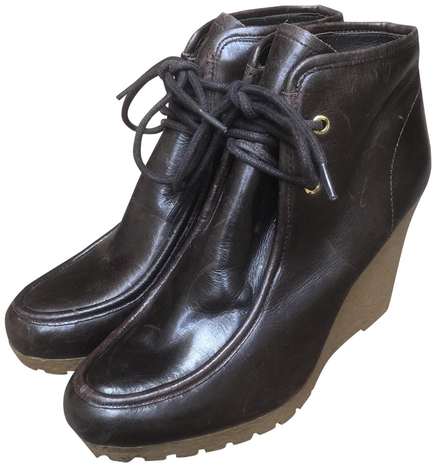 37bb5b59cc4ca MICHAEL Michael Kors Dark Brown Lace-up Boots/Booties Size US 7.5 ...