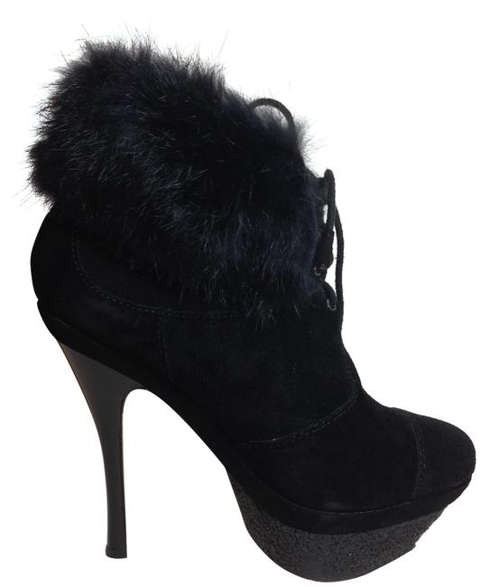 Item - Black Lamb Pier Suede Leather Boots/Booties Size US 5.5 Regular (M, B)