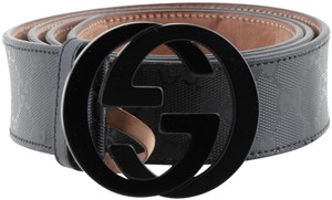 Gucci Gucci Imprime Monogram Interlocking G Belt