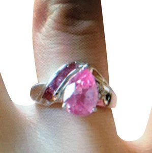 Kay Jewelers Pink Sapphire White Gold And Ring Tradesy