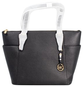 f650cc9b479 Michael Kors Jet Set Item East West Jet Set Travel 191935010933 Tote in  Black