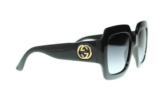 Gucci GUCCI URBAN GG0053S 001 Black Square Sunglassses Brand New!!
