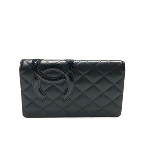 Chanel Chanel Cambon Quilted Long Leather Wallet