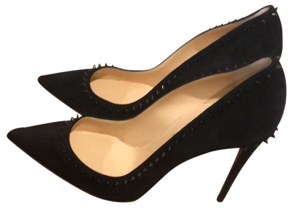 purchase cheap 4ee1b 3f209 Anjalina Black Suede Pumps