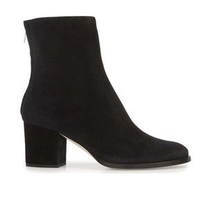 Jimmy Choo Suede Leather Black Boots