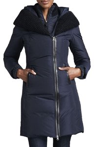Mackage Down Jacket Moncler Fur Leather Coat