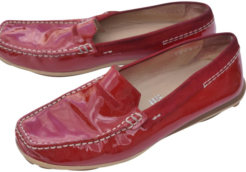 45c7be53bba Geox Red Respira Flats Size US 6 Regular (M, B) - Tradesy
