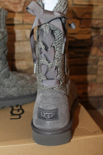 6386b2a76c6 UGG Australia Gray Isla Sweater and Suede Boots/Booties Size US 7 Regular  (M, B) 16% off retail
