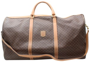 2c6b48cbd927 Céline Keepall Bandouliere Speedy Brown Travel Bag