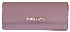 6dbe2da97cbc Michael Kors Michael kors Flat Wallet Jet Set Travel. Michael Kors Dusty  Rose Multicolor ...