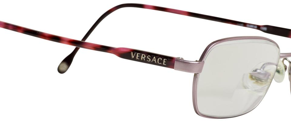 2ee8ad2171 Versace Black and Purple Eyeglass Frames Womens Italy Sunglasses ...