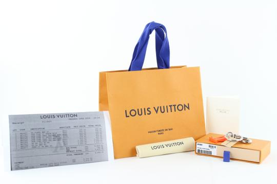 Louis Vuitton Virgil Abloh ss19 LV Initial Key Chain Ring Bag Charm Pendant 18LE0110 Image 1