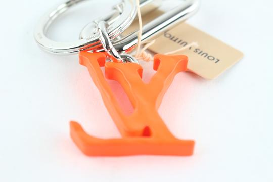 Louis Vuitton Virgil Abloh ss19 LV Initial Key Chain Ring Bag Charm Pendant 18LE0110 Image 8