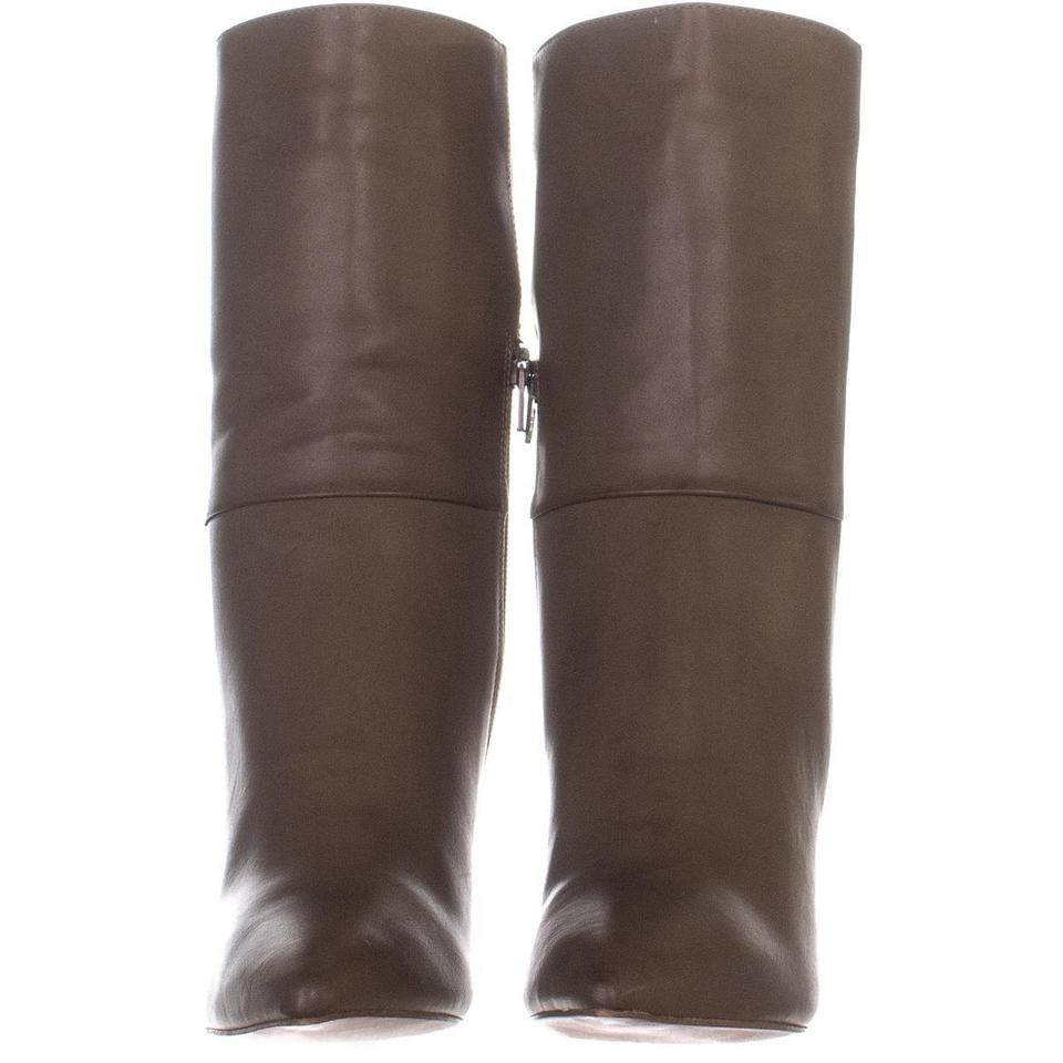 2747476237e9 BCBGeneration Brown Leslie Cone-heel 512 Smooth   3 Boots Booties ...
