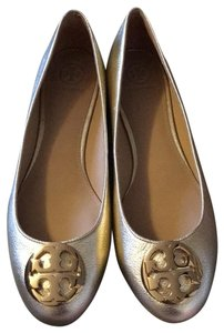 Tory Burch Spark Gold Flats
