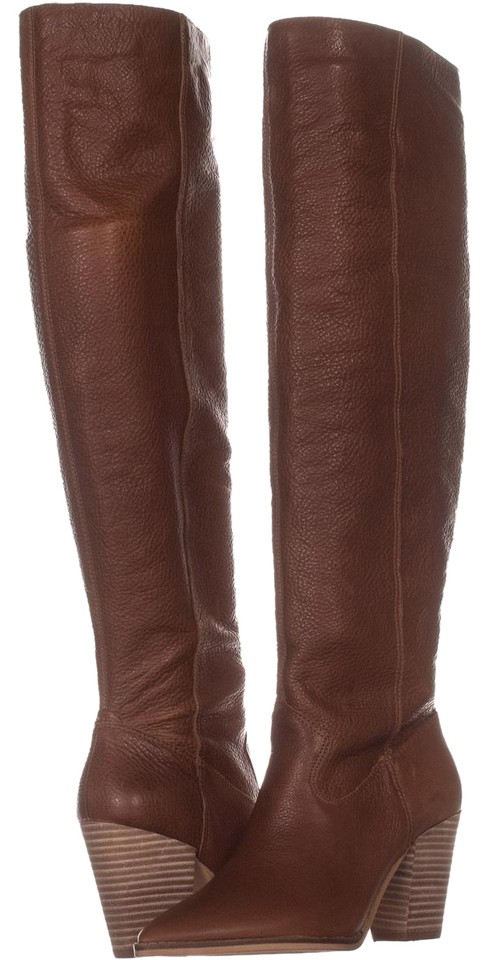 776528209aa Lucky Brand Brown Azoola Pointed Toe Knee High 071 Whiskey Boots ...