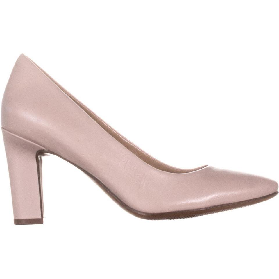 f76e8c84f52 Naturalizer Pink Gloria Pointed Toe Dress 085 Soft Marble W Pumps Size US  6.5 Wide (C