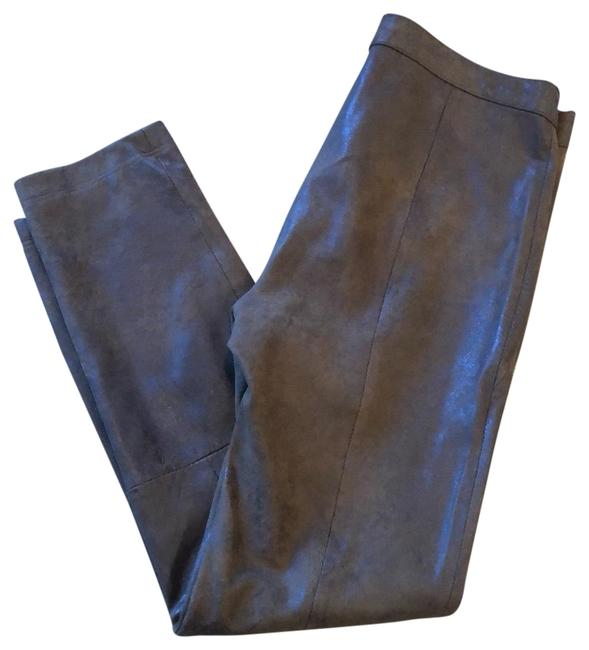 Item - Brown Faux Leather Pants Size 4 (S, 27)