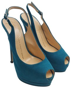 blue giuseppe zanotti platforms up to 90 off at tradesy rh tradesy com