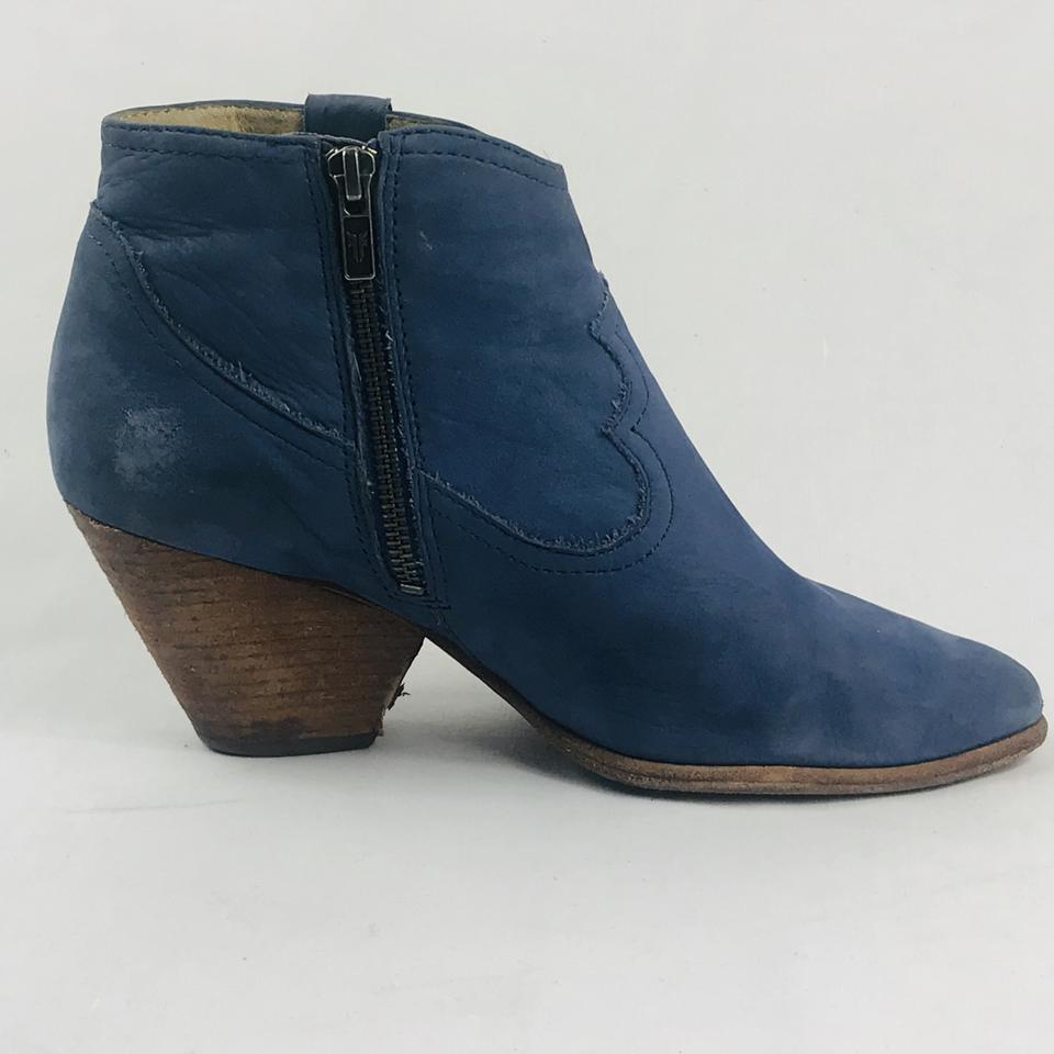 14369aaeb03 Blue Reina Ankle Boots/Booties