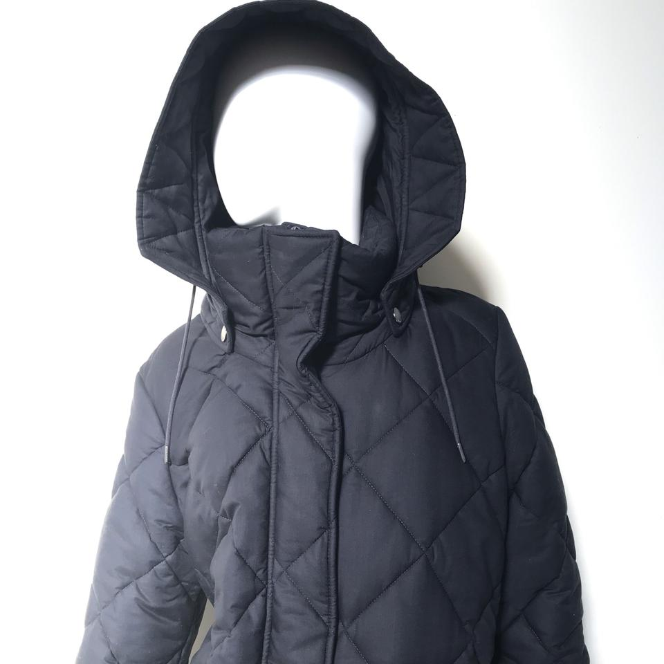 f94854f5d88 Burberry Ink Blue Women's Blakeshall Quilted Jacket Small Coat Size 6 (S) -  Tradesy