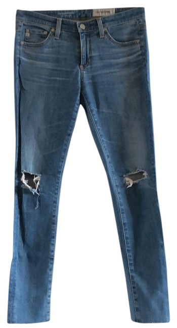 Item - Denim Light Wash Skinny Jeans Size 2 (XS, 26)