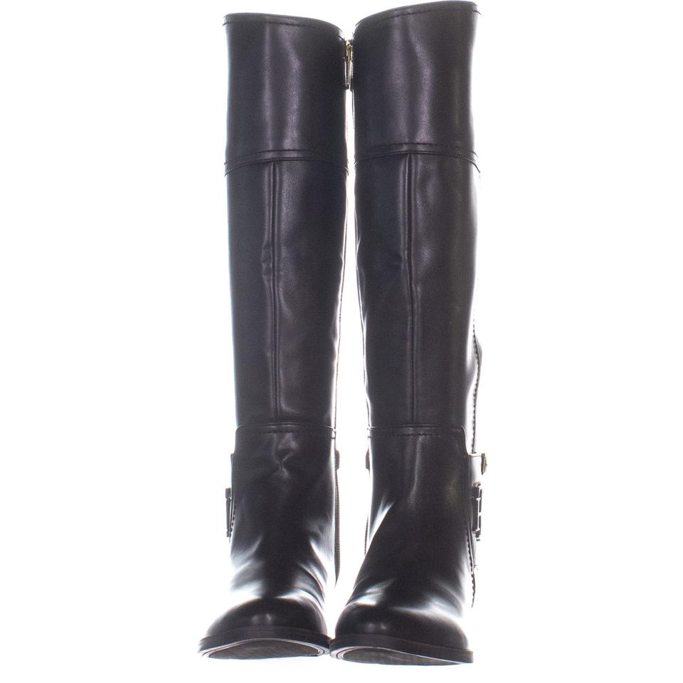 0c74843f1e8a Tommy Hilfiger Black Merritt Knee High 399 Blacksynthetic Boots Booties