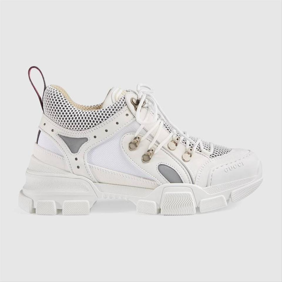 c3e1dc9b9c9 Gucci Flashtrek Leather Sneakers Size EU 40 (Approx. US 10) Regular ...