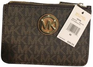 Michael Kors Michael Kors Leather Coin Purse