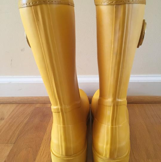 Tory Burch Yellow Boots Image 4