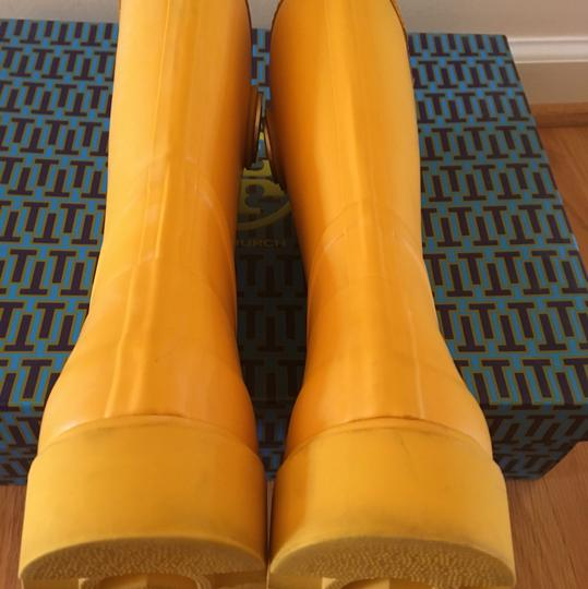 Tory Burch Yellow Boots Image 6