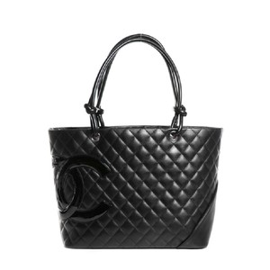 Chanel Cambon Tote in Black